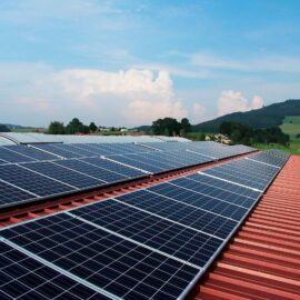 Inclinación de paneles solares según latitud
